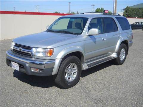 2001 Toyota 4Runner for sale at PRICE TIME AUTO SALES in Sacramento CA