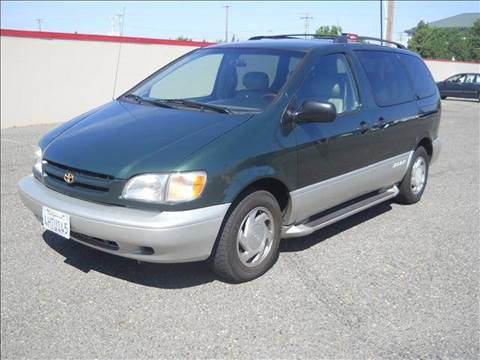 2000 Toyota Sienna for sale at PRICE TIME AUTO SALES in Sacramento CA