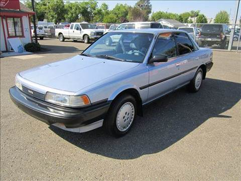 1989 Toyota Camry for sale at PRICE TIME AUTO SALES in Sacramento CA