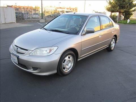 2005 Honda Civic for sale at PRICE TIME AUTO SALES in Sacramento CA