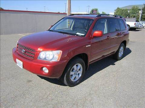 2001 Toyota Highlander for sale at PRICE TIME AUTO SALES in Sacramento CA
