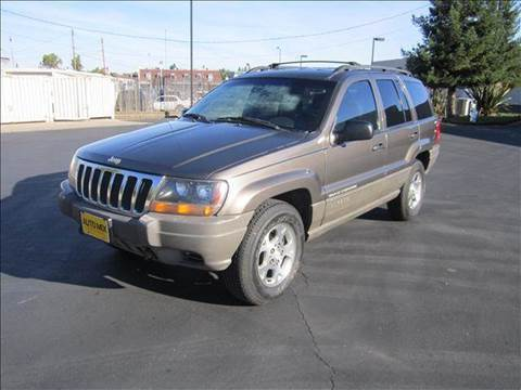 1999 Jeep Grand Cherokee for sale at PRICE TIME AUTO SALES in Sacramento CA