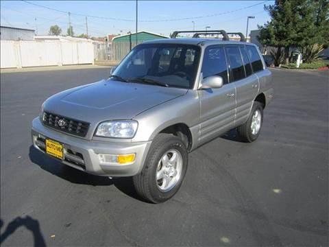 1999 Toyota RAV4 for sale at PRICE TIME AUTO SALES in Sacramento CA