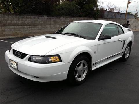 2001 Ford Mustang for sale at PRICE TIME AUTO SALES in Sacramento CA