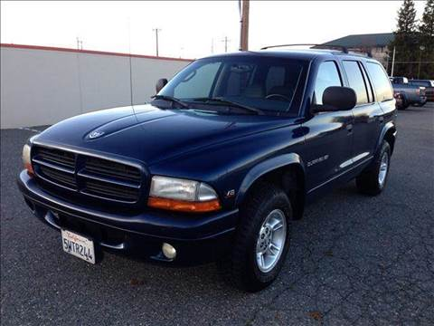 2000 Dodge Durango for sale at PRICE TIME AUTO SALES in Sacramento CA
