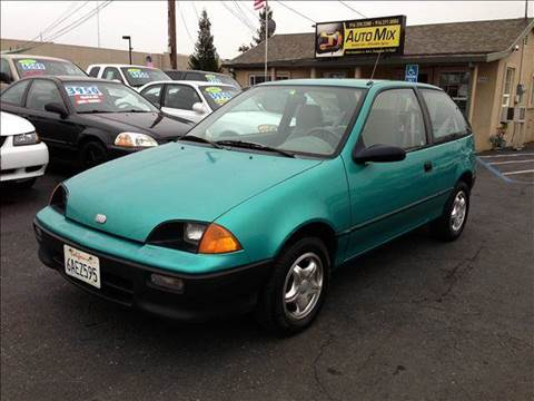 1993 GEO Metro for sale at PRICE TIME AUTO SALES in Sacramento CA
