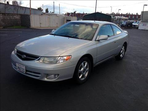 2000 Toyota Camry Solara for sale at PRICE TIME AUTO SALES in Sacramento CA