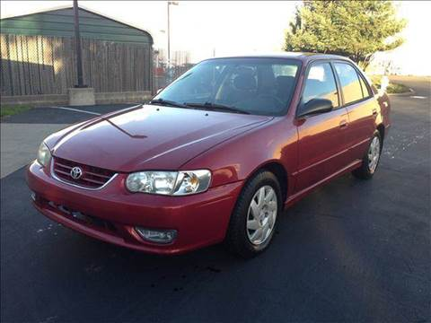 2001 Toyota Corolla for sale at PRICE TIME AUTO SALES in Sacramento CA