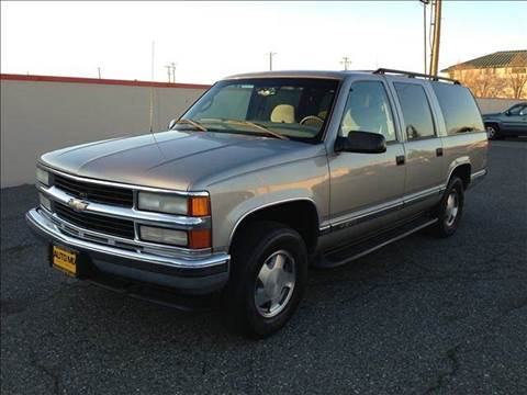 1999 Chevrolet Suburban for sale at PRICE TIME AUTO SALES in Sacramento CA