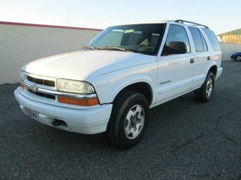 2004 Chevrolet Blazer for sale at PRICE TIME AUTO SALES in Sacramento CA