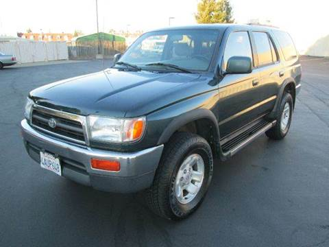 1998 Toyota 4Runner for sale at PRICE TIME AUTO SALES in Sacramento CA