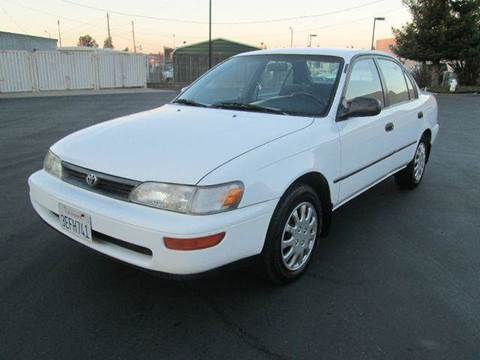 1993 Toyota Corolla for sale at PRICE TIME AUTO SALES in Sacramento CA