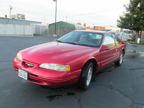 1997 Ford Thunderbird for sale at PRICE TIME AUTO SALES in Sacramento CA