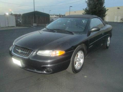 1999 Chrysler Sebring for sale at PRICE TIME AUTO SALES in Sacramento CA