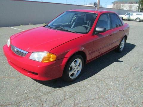 1999 Mazda Protege for sale at PRICE TIME AUTO SALES in Sacramento CA