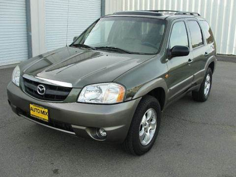 2002 Mazda Tribute for sale at PRICE TIME AUTO SALES in Sacramento CA