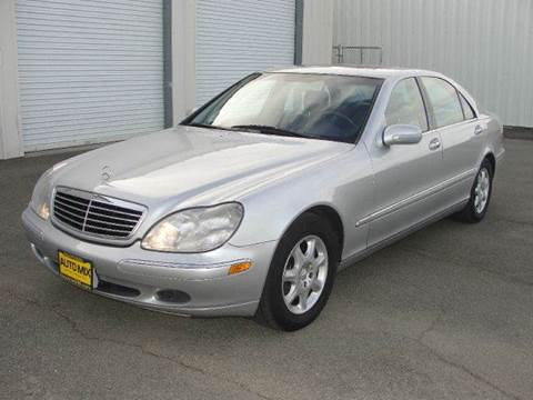 2000 Mercedes-Benz S-Class for sale at PRICE TIME AUTO SALES in Sacramento CA