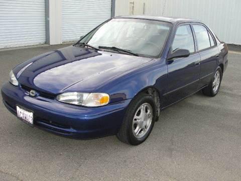 1998 Chevrolet Prizm for sale at PRICE TIME AUTO SALES in Sacramento CA