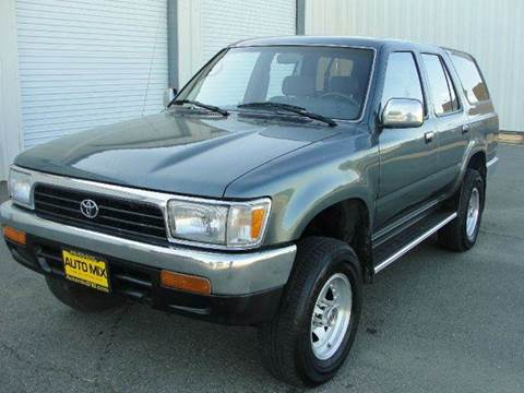 1993 Toyota 4Runner for sale at PRICE TIME AUTO SALES in Sacramento CA