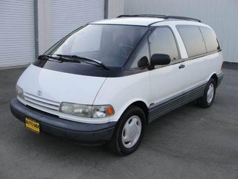 1992 Toyota Previa for sale at PRICE TIME AUTO SALES in Sacramento CA