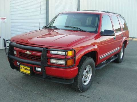 2000 Chevrolet Tahoe for sale at PRICE TIME AUTO SALES in Sacramento CA