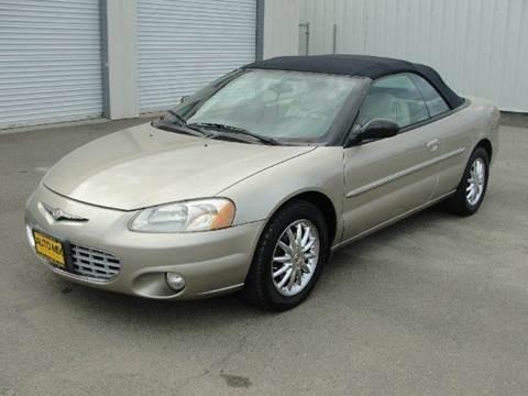2003 Chrysler Sebring for sale at PRICE TIME AUTO SALES in Sacramento CA