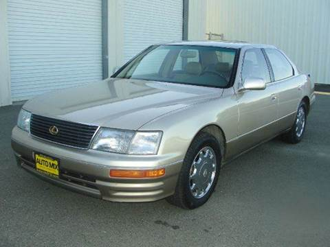 1995 Lexus LS 400 for sale at PRICE TIME AUTO SALES in Sacramento CA