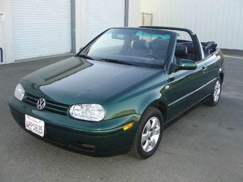 2001 Volkswagen Cabrio for sale at PRICE TIME AUTO SALES in Sacramento CA