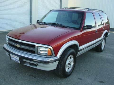 1997 Chevrolet Blazer for sale at PRICE TIME AUTO SALES in Sacramento CA