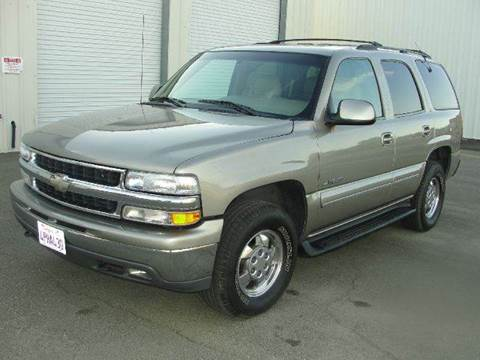 2001 Chevrolet Tahoe for sale at PRICE TIME AUTO SALES in Sacramento CA