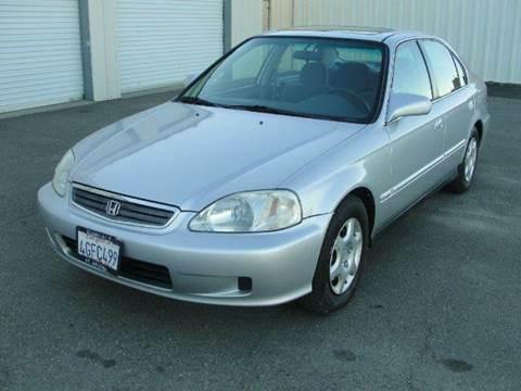 1999 Honda Civic for sale at PRICE TIME AUTO SALES in Sacramento CA