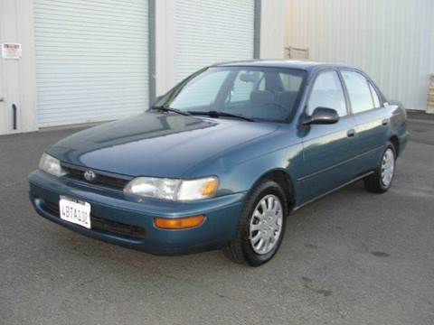 1995 Toyota Corolla for sale at PRICE TIME AUTO SALES in Sacramento CA