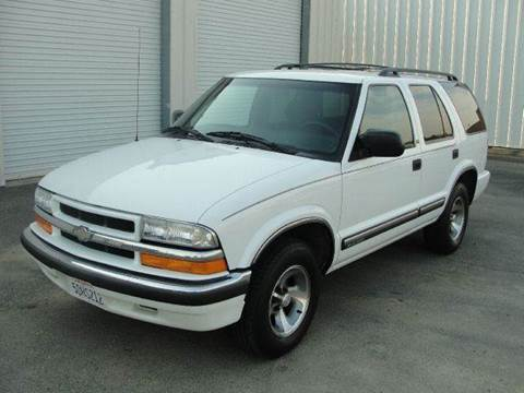 2000 Chevrolet Blazer for sale at PRICE TIME AUTO SALES in Sacramento CA
