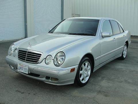 2001 Mercedes-Benz E-Class for sale at PRICE TIME AUTO SALES in Sacramento CA