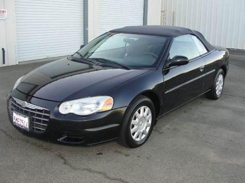 2005 Chrysler Sebring for sale at PRICE TIME AUTO SALES in Sacramento CA