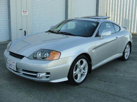 2003 Hyundai Tiburon for sale at PRICE TIME AUTO SALES in Sacramento CA