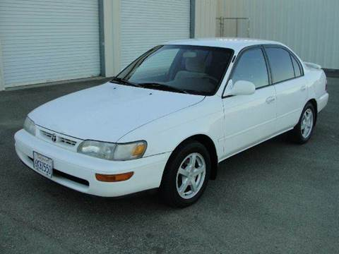 1996 Toyota Corolla for sale at PRICE TIME AUTO SALES in Sacramento CA