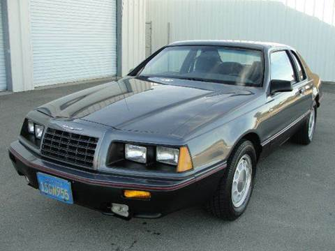 1986 Ford Thunderbird for sale at PRICE TIME AUTO SALES in Sacramento CA