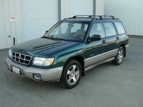 1999 Subaru Forester for sale at PRICE TIME AUTO SALES in Sacramento CA