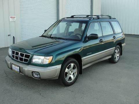 1999 Subaru Forester for sale at PRICE TIME AUTO SALES in Sacramento CA