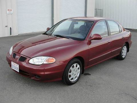 2000 Hyundai Elantra for sale at PRICE TIME AUTO SALES in Sacramento CA
