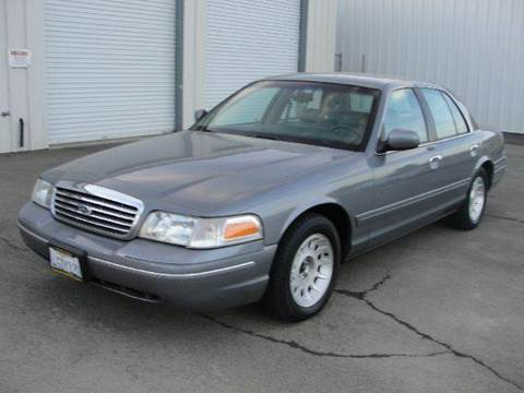 1999 Ford Crown Victoria for sale at PRICE TIME AUTO SALES in Sacramento CA