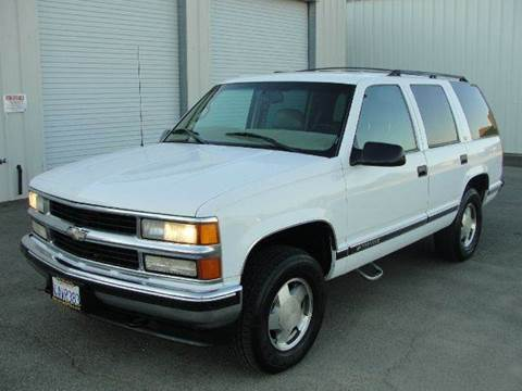 1999 Chevrolet Tahoe for sale at PRICE TIME AUTO SALES in Sacramento CA