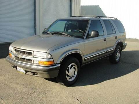 1998 Chevrolet Blazer for sale at PRICE TIME AUTO SALES in Sacramento CA
