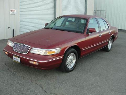 1997 Mercury Grand Marquis for sale at PRICE TIME AUTO SALES in Sacramento CA