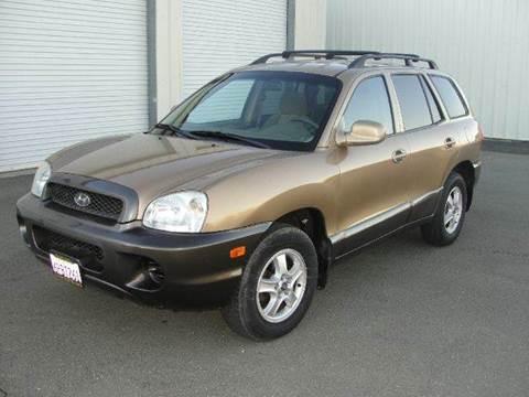 2002 Hyundai Santa Fe for sale at PRICE TIME AUTO SALES in Sacramento CA
