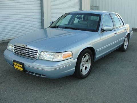 2002 Ford Crown Victoria for sale at PRICE TIME AUTO SALES in Sacramento CA