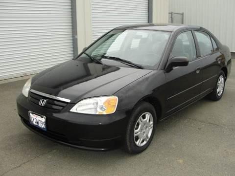 2002 Honda Civic for sale at PRICE TIME AUTO SALES in Sacramento CA