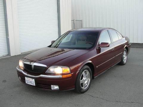 2000 Lincoln LS for sale at PRICE TIME AUTO SALES in Sacramento CA