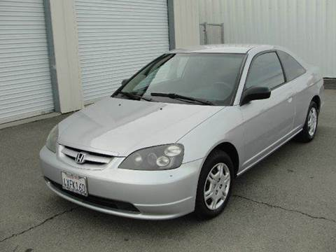 2002 Honda Civic for sale at PRICE TIME AUTO SALES in Sacramento CA